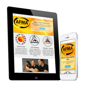 Albany Fusion Martial Arts Mobile Responsive Website