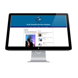 Drift Outside the Box Design E-commerce Website