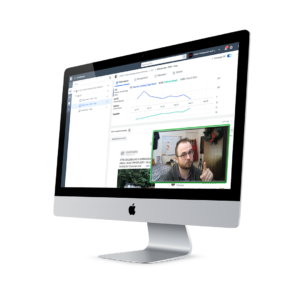Video chat with screen share of Facebook Ads