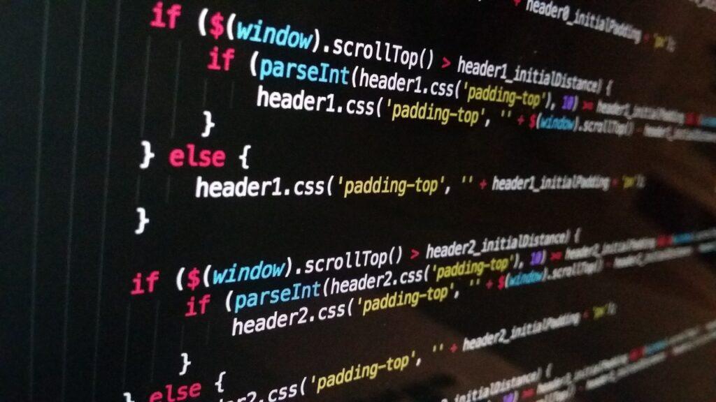 website development and coding